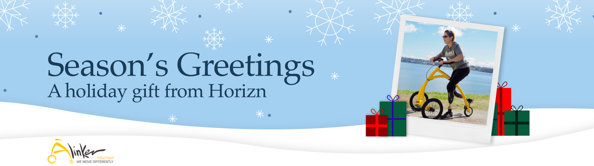 Season's Greetings, A holiday gift from Horizn